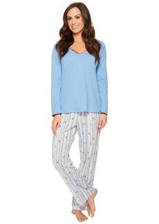 Jockey Knit Pajama Set