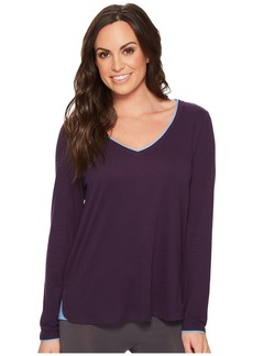 Jockey Long Sleeve V-Neck Top