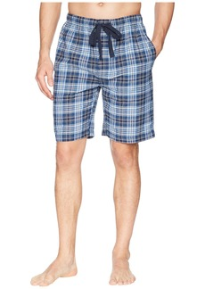 Jockey Yarn-Dye Broadcloth Sleep Shorts