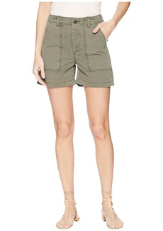 Joe's Jeans Army Shorts in Earth Army