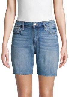 Joe's Jeans Bermuda Denim Cutoff Shorts