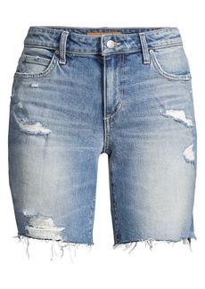 Joe's Jeans Bermuda Distressed Denim Shorts