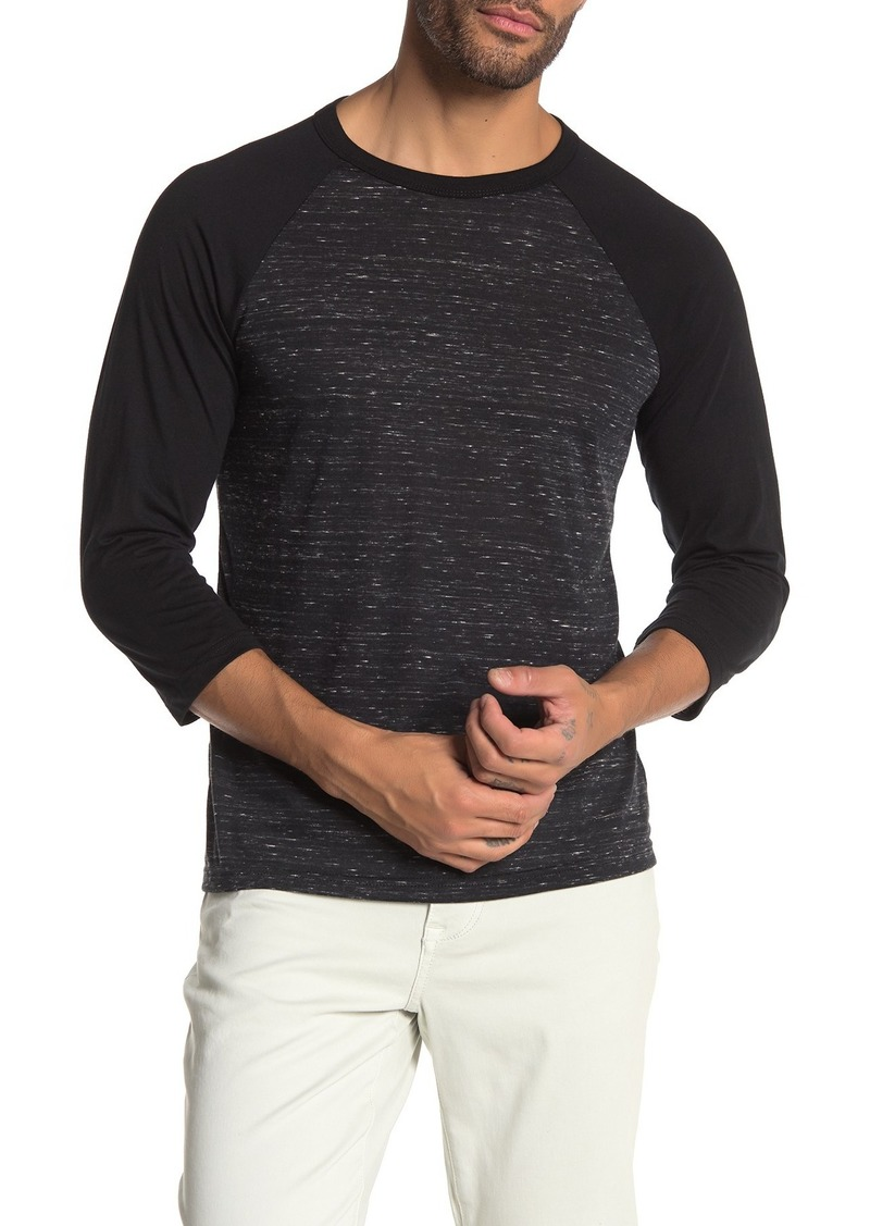 Joe's Jeans Bobbi 3/4 Raglan Sleeve T-Shirt