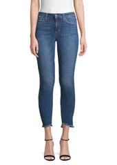 Joe's Jeans Brianna Skinny Ankle Frayed Jeans