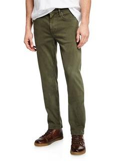 Joe's Jeans Men's Brixton Slim-Straight Sateen Twill Pants