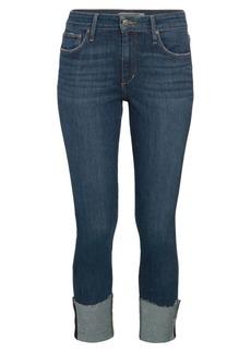 Joe's Jeans Brussels Mid-Rise Cropped Skinny Jeans