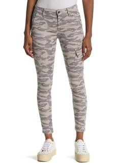 Joe's Jeans Camo Print Mid Rise Ankle Crop Utility Skinny Jeans
