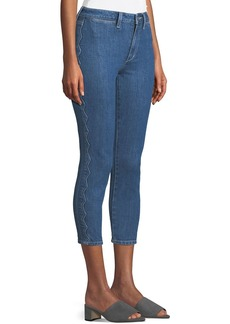 Joe's Jeans Charlie Cropped Skinny Jeans