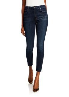 Joe's Jeans Charlie Dark Wash Cropped Skinny Jeans