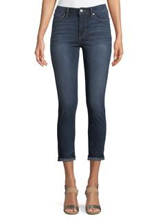 Joe's Jeans Charlie High-Rise Jeans w/ Markie Hem