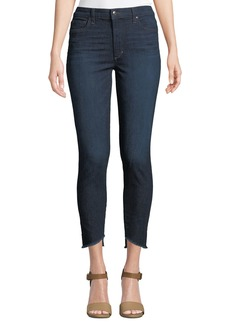 Joe's Jeans Charlie High-Rise Skinny Step-Hem Jeans