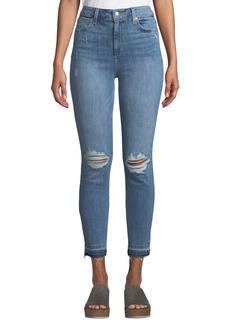 Joe's Jeans Charlie Release-Hem Ankle Jeans
