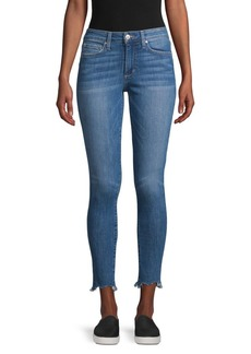 Joe's Jeans Daphine Mid-Rise Frayed Ankle Jeans