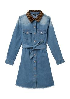 Joe's Jeans Denim Leopard Dress (Big Girls)