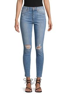 Joe's Jeans Distressed Cropped Jeans