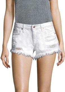 Joe's Jeans Distressed Cut-Off Shorts