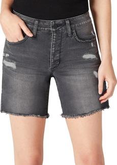 Joe's Jeans Distressed Denim Bermuda Shorts