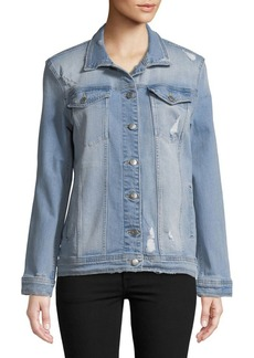 Joe's Jeans Distressed Denim Jacket