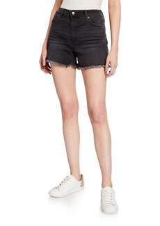 Joe's Jeans Distressed Frayed High-Rise Shorts