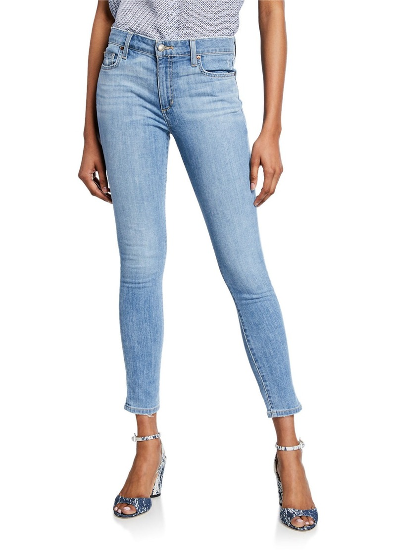Joe's Jeans Distressed Mid-Rise Ankle Skinny Jeans