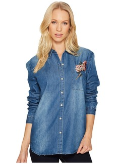 Joe's Jeans Embroidered Denim Shirt