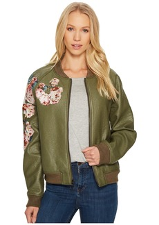 Joe's Jeans Embroidered Poly Jacket