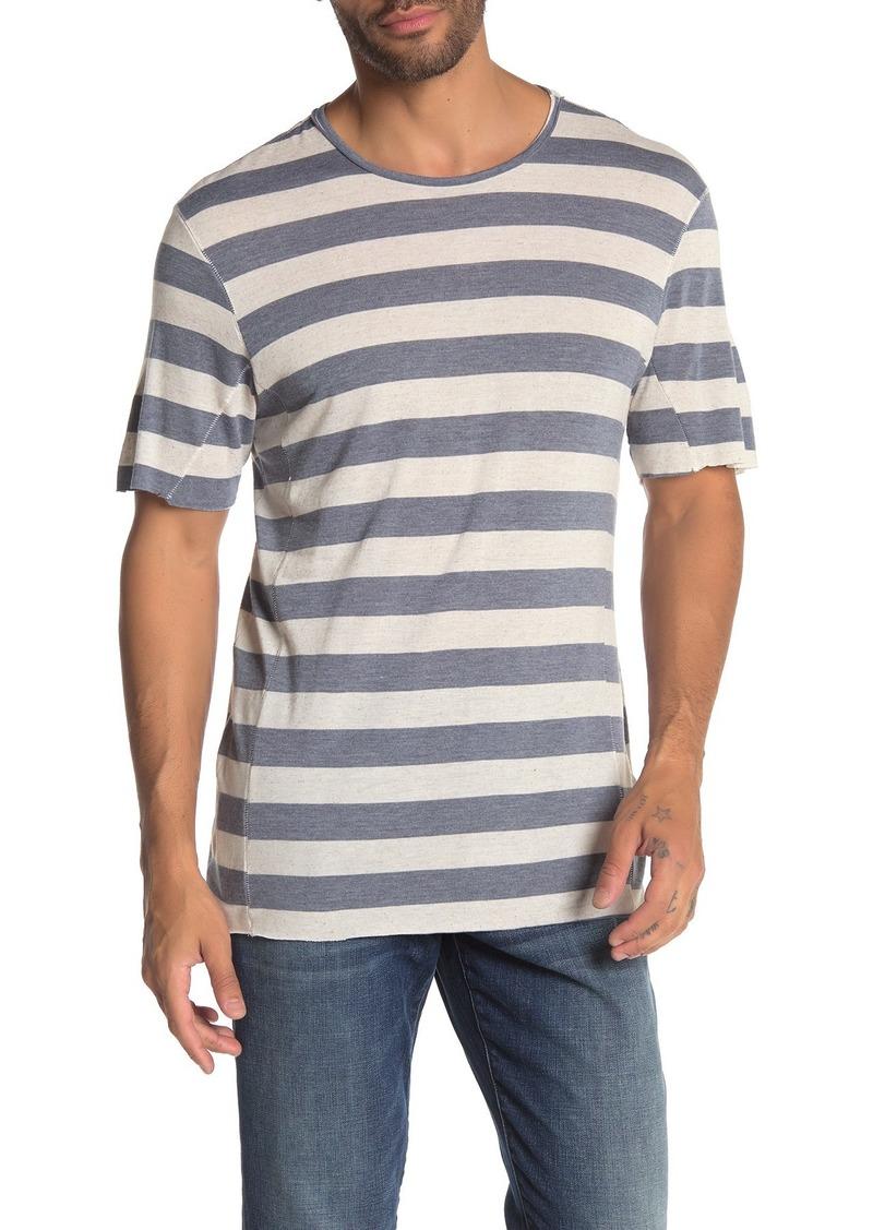Joe's Jeans Engineered Stripe Print T-Shirt