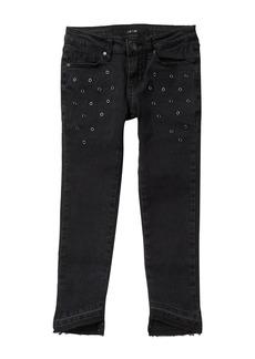 Joe's Jeans Eyelet Embellished Jeans (Big Girls)