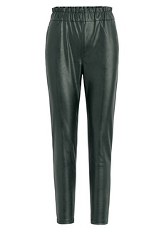Joe's Jeans Faux Leather Paperbag Pants