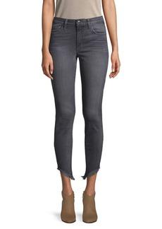 Joe's Jeans Francine Frayed Hem Skinny Ankle Jeans