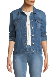 Joe's Jeans Frannie Distressed Denim Jacket