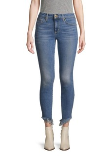 Joe's Jeans Frayed Cropped Jeans