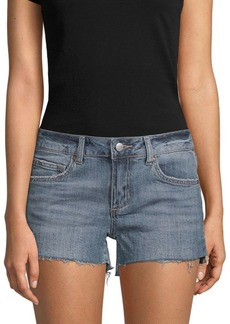 Joe's Jeans Frayed Denim Cut-Off Shorts