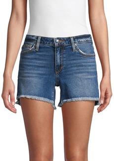 Joe's Jeans Frayed Denim Cut-Off Shorts