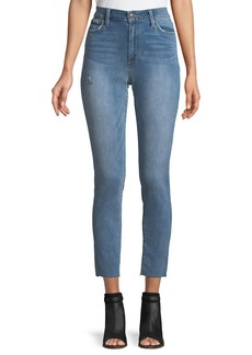 Joe's Jeans Gail High-Rise Cut-Hem Ankle Jeans