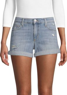 Joe's Jeans Geneva Distressed Denim Shorts