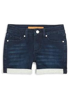 Joe's Jeans Girl's Markie Contrast Cuff Shorts