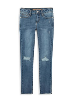 Joe's Jeans Girl's Markie Fit Deconstructed Skinny Jeans