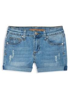 Joe's Jeans Girl's Roll-Cuff Shorts