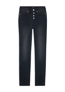 Joe's Jeans Girl's The Esme Button-Fly Ankle Skinny Jeans