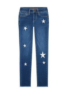 Joe's Jeans Girl's The Luna Star Ankle Skinny Jeans