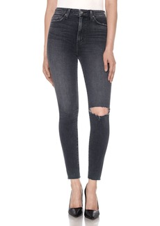 Joe's Jeans Halsey High-Rise Distressed Ankle Jeans