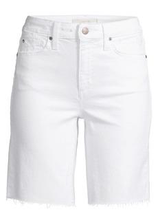 Joe's Jeans Hi Honey Bermuda Denim Shorts