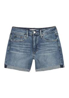 Joe's Jeans High Rise 4 Cuffed Denim Shorts