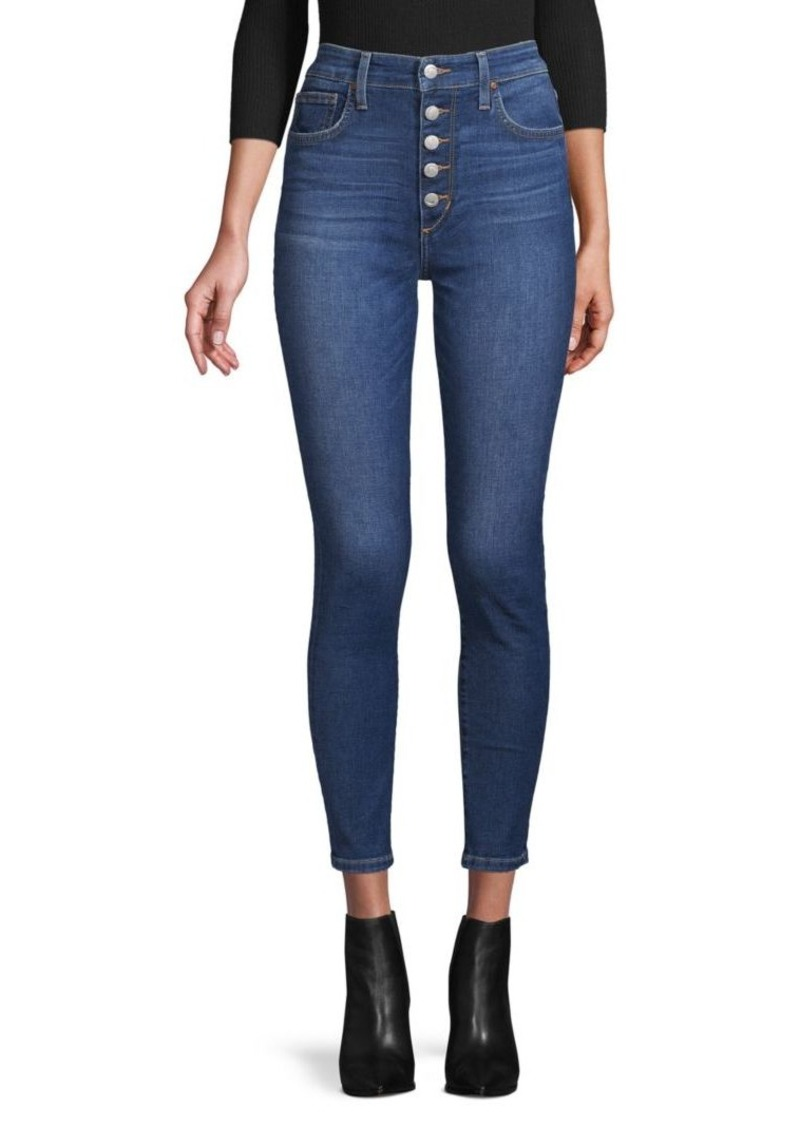 Joe's Jeans High-Rise Skinny-Fit Jeans