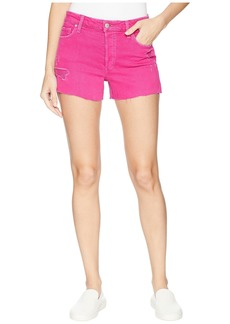 Joe's Jeans High-Rise Smith Shorts in Hot Pink