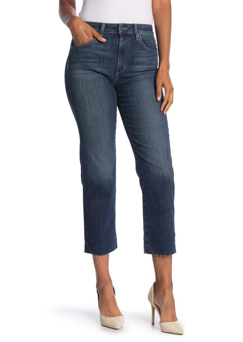 Joe's Jeans High Rise Straight Crop Jeans