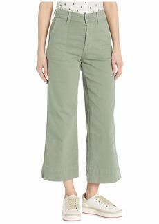 Joe's Jeans High-Rise Trouser Crop in Seagrass