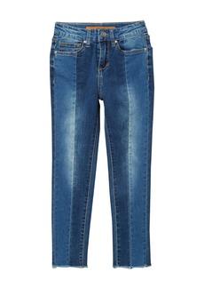 Joe's Jeans High Waisted Two-Tone Skinny Jeans (Big Girls)
