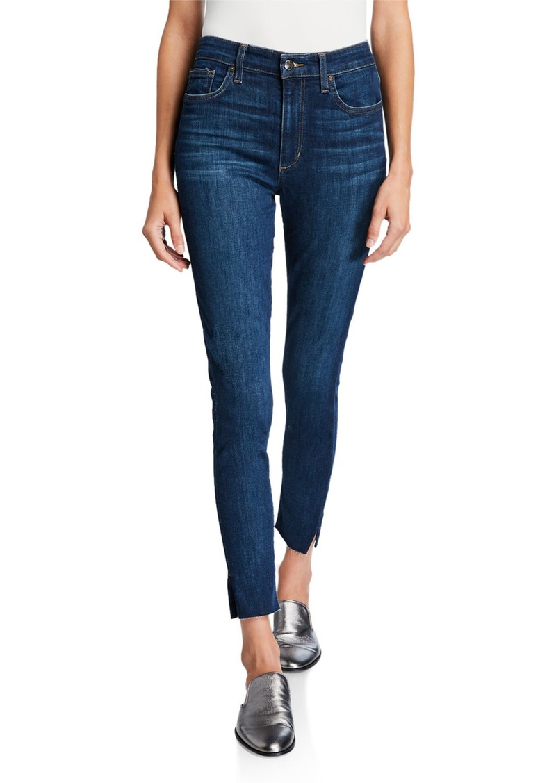 Joe's Jeans High-Rise Vented Ankle-Cut Jeans